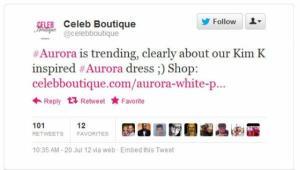Aurora_hashtag_Twitter_disaster